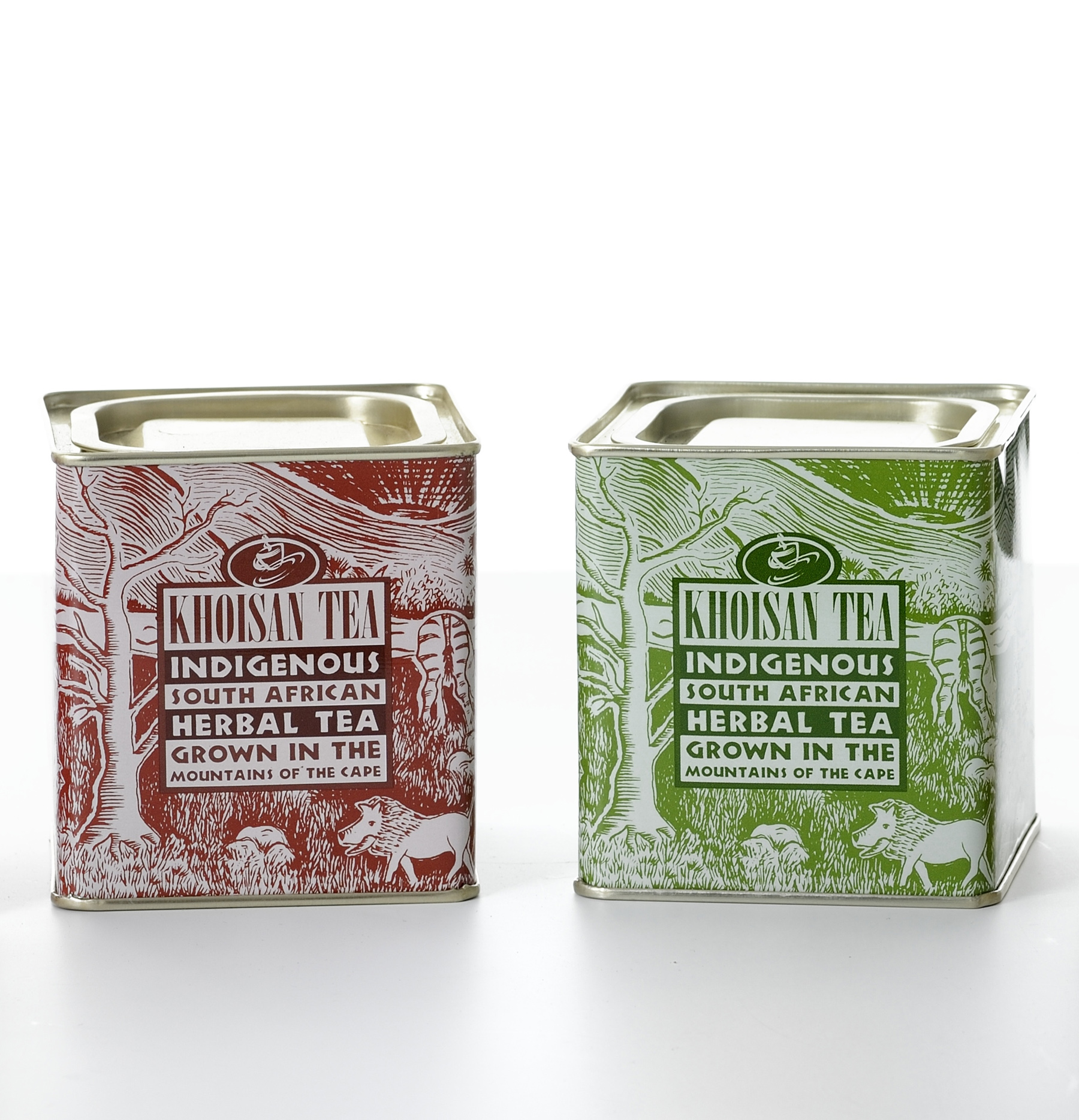 Photo 2_Khoisan Red and Green Rooibos Tea_Tin Set_resized